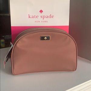 NWT Authentic Kate Spade Spade Nylon Makeup Bag